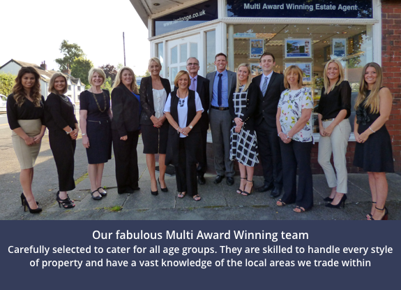 The multi award winning estate agent. Find out more.